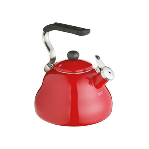Le'Xpress 2 Litres Whistling Kettle Red