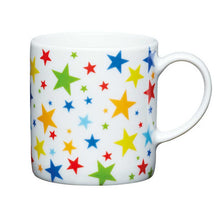 Load image into Gallery viewer, Kitchen Craft 80ml Porcelain Espresso Cup Multi Stars