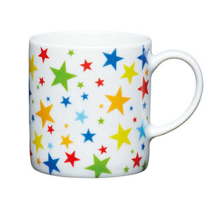 Kitchen Craft 80ml Porcelain Espresso Cup Multi Stars