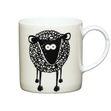 Load image into Gallery viewer, Kitchen Craft 80ml Porcelain Espresso Cup Sheep