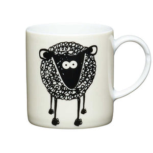 Kitchen Craft 80ml Porcelain Espresso Cup Sheep