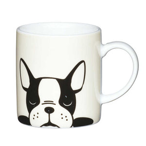Kitchen Craft 80ml Porcelain Espresso Cup French Bulldog