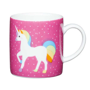 Kitchen Craft 80ml Porcelain Espresso Cup Unicorn