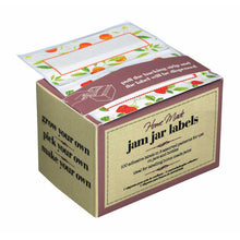 Load image into Gallery viewer, Home Made Pack of 100 Assorted Jam Jar Labels