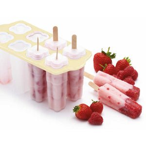 KitchenCraft Set of 8 Deluxe Lolly Makers filled