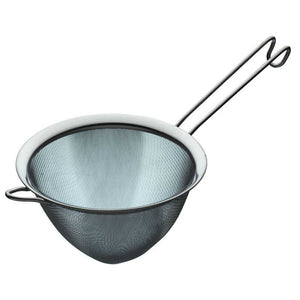 KitchenCraft Stainless Steel 18cm Fine Mesh Conical Sieve