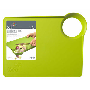 Zeal 'Straight to Pan' Chopping Board with Smal Hole