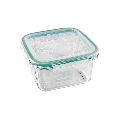 Clearly LocknLock Square Container (580ml)