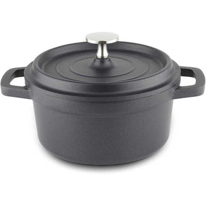 Commichef cast aluminium casserole closed lid