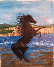 Load image into Gallery viewer, Stallion on the Beach 24x30