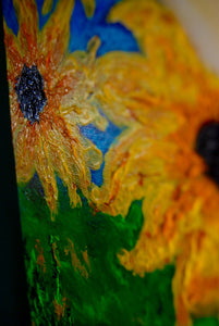 She is the Sunflower 12x24
