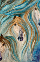 Load image into Gallery viewer, Three Beautiful  Mares