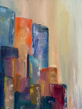 Load image into Gallery viewer, Skyscrapers 20x20 oil