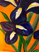 Load image into Gallery viewer, Irises 12x12