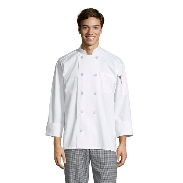 Workhorse Chef Coat #0402P Pack of 3 *Closeout*