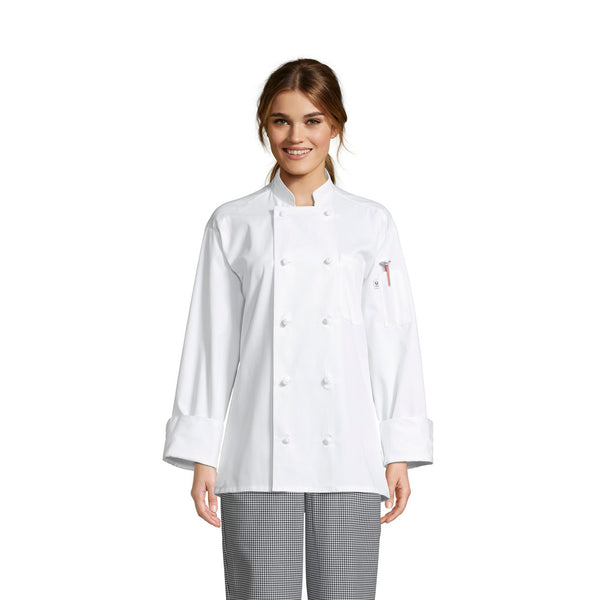 Journeyman Chef Coat #0403P Pack of 3 *Closeout*