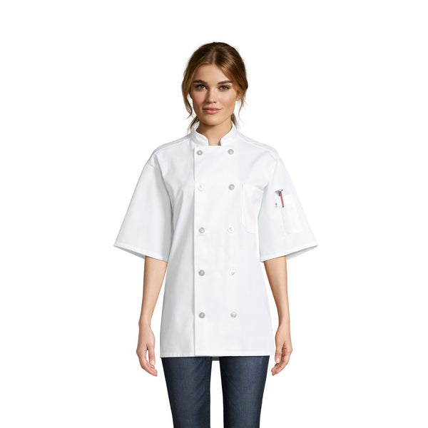 Nighthawk Chef Coat #0415P Pack of 3 *Closeout*