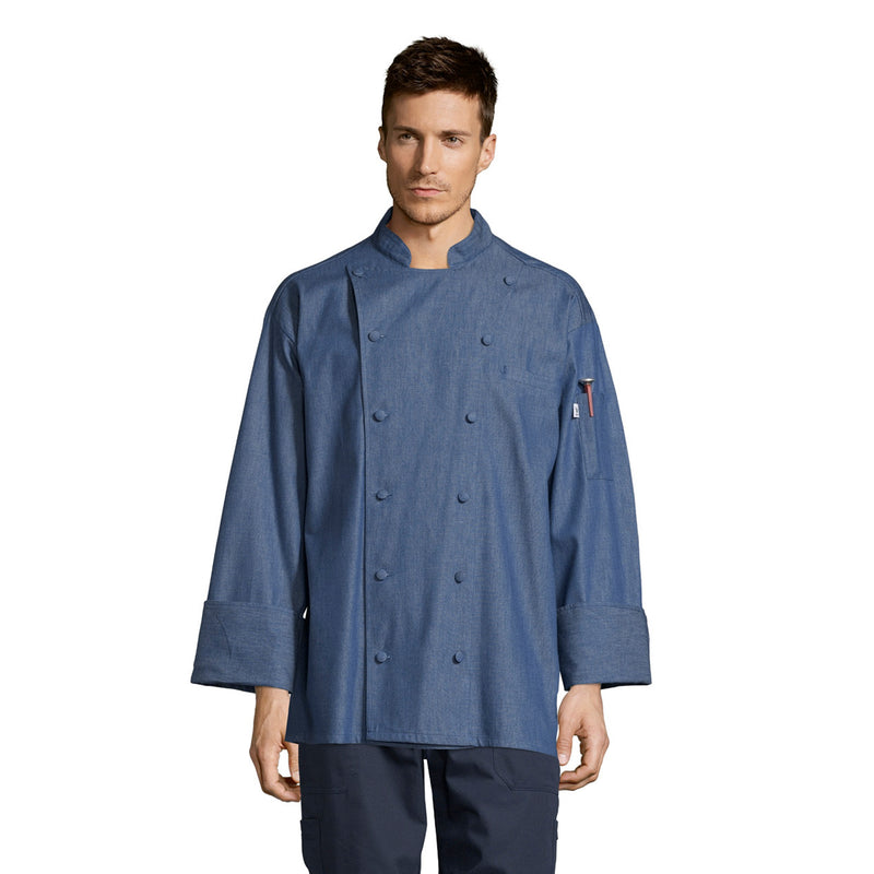 Santa Fe Chambray Chef Coat #0460