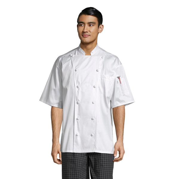 Master Chef Coat Short Sleeve #0493