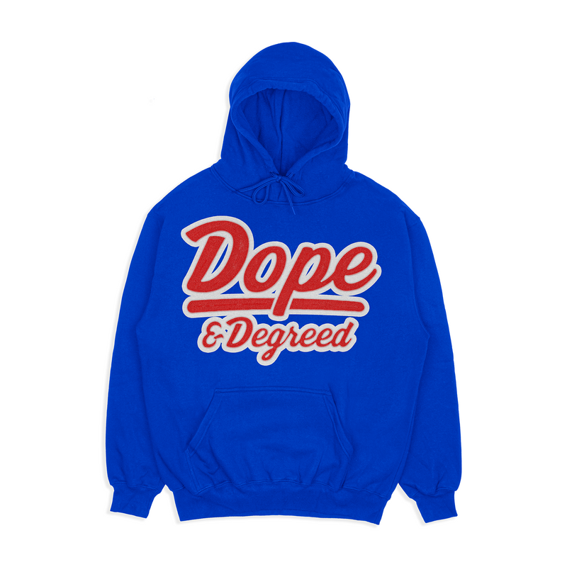 Dope and Degreed Patch Hoodie