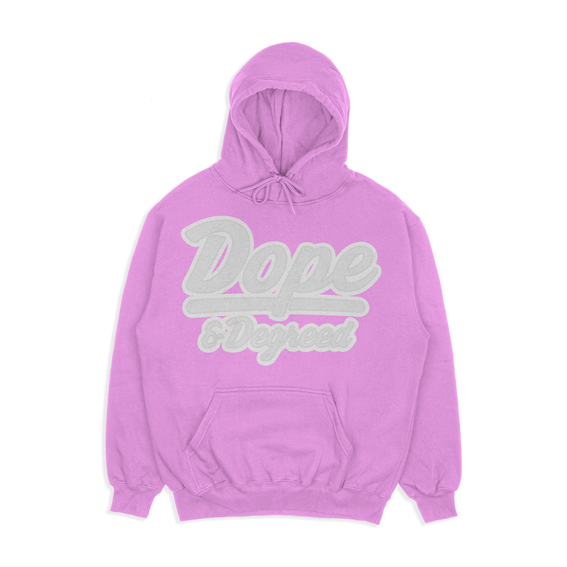 Dope & Degreed Patch Hoodie: Supporters
