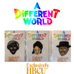 Limited Edition: A Different World Enamel Pin Bundle