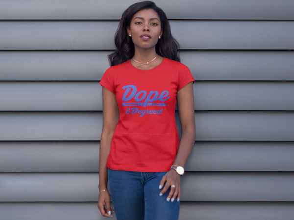Dope & Degreed: HBCU Inspired Tee