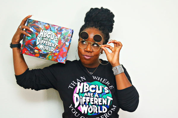 HBCUs Are A Different World Box: Limited Edition