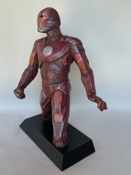 Stoneware Sculpture | The Avengers | Iron Man | Super Hero | Tony Stark | Stark Industries | Marvel Comics |