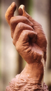 Your Helping Hand | Stoneware Sculpture |