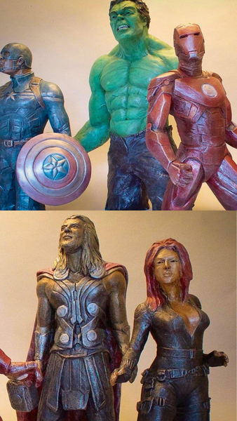 Avengers | The Collection | Original Stoneware Superheroes