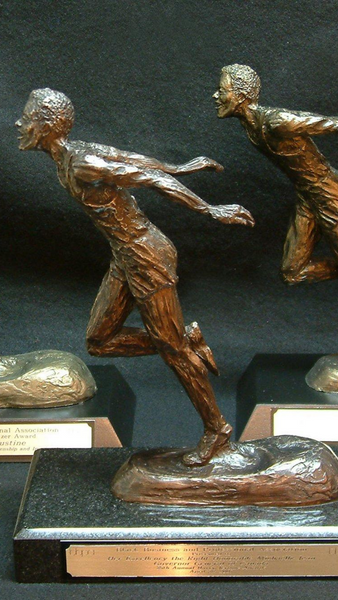 Harry Jerome Award | Custom Trophy | BBPA's Premium Award | Bronze | Runner