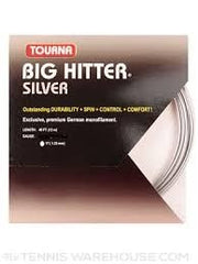 Tourna Big Hitter Silver 17 Gauge tennis strings