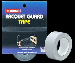 Tourna Racket guard tape 1 inch - Black
