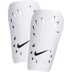 Nike soccer J Gaurd shin guards black and white