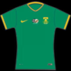 Nike Bafana bafana soccer supporter Home Jersey for Women