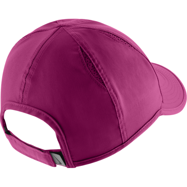 Nike Feather Light Cap vivid pink and white  15534894356e
