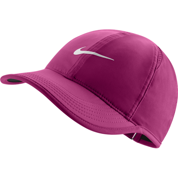 Nike Feather Light Cap vivid pink and white  52231b23dad