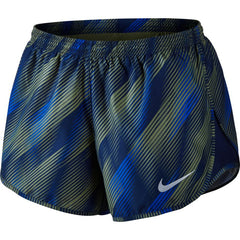 Nike Dry Tempo Running Short Women's -  Palm Green/Binary Blue