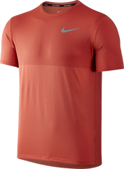 Nike Men's Zonal Cooling Relay Running T-Shirt - Max Orange