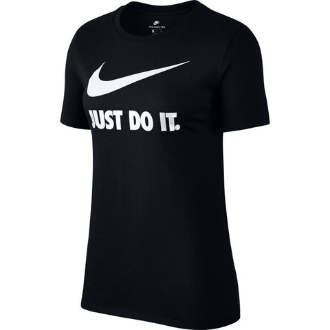 Nike Women's Swoosh T Shirt - Black