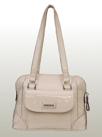 Bella Bianca ladies leather handbag Carla white