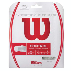Wilson Control Synthetic Gut string set