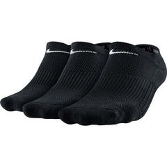 Nike Cushion No-Show Training Women's Sock (3 Pair) - black/white