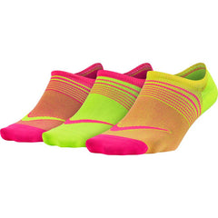 Nike Lightweight Footie Training Women's Sock (3 Pair) - Multi color