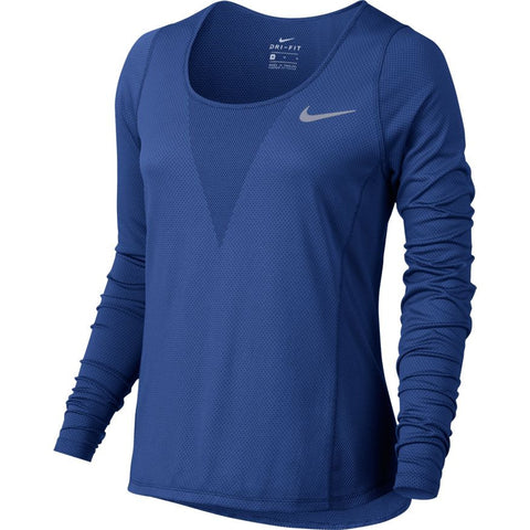 Nike Zonal Cooling Relay Women's Running Top - Comet blue
