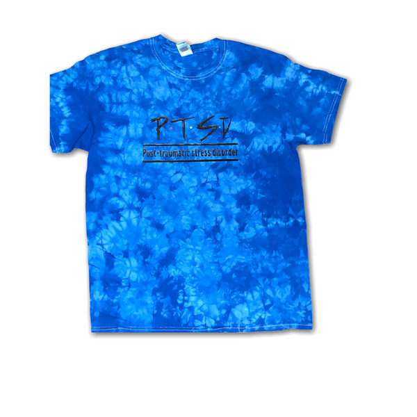 PTSD Awareness Tie Dye (Gherbo inspired) Tshirt (Unisex)