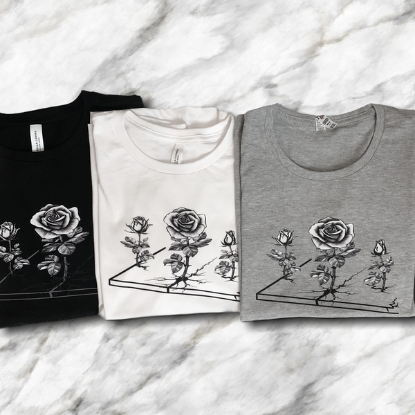 Concrete Rose (DTG) Tees