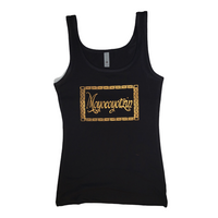 Moyocoyotzin (Self Made) black tank top