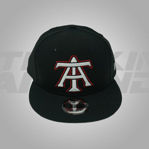 BLACK WHITE & RED SNAPBACK NEW ERA